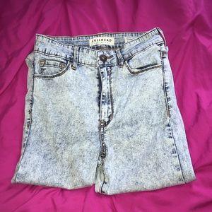 Bullhead acid wash jeans